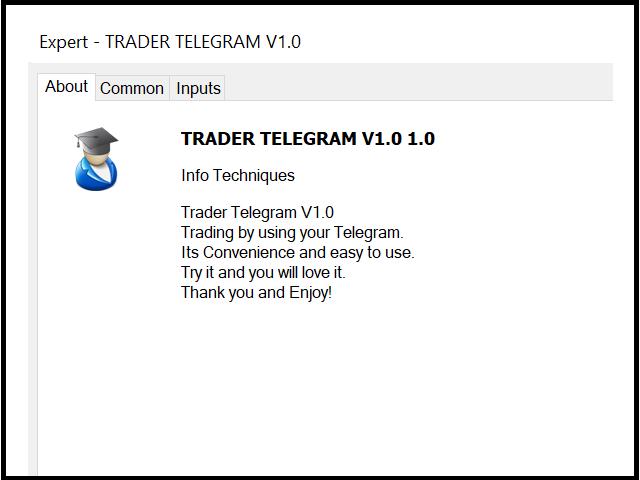 Trader Telegram Full MT5