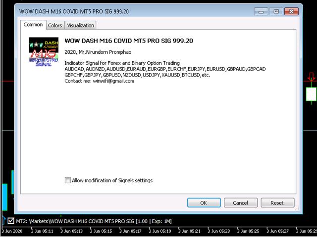WOW Dash M16 Covid Mt5 Pro Sig