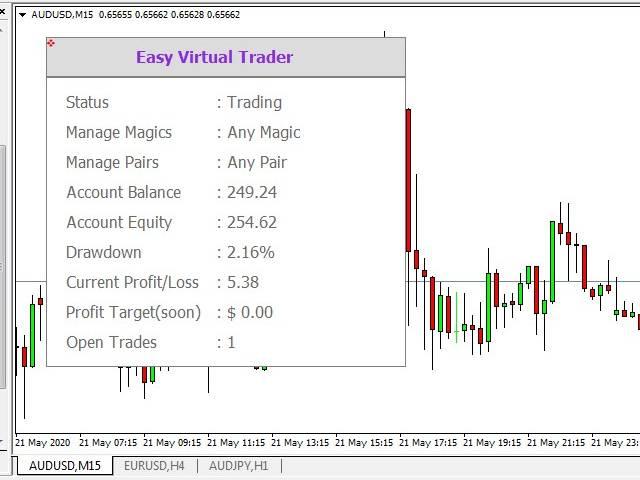 Easy Virtual Trader MT5