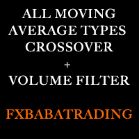 All moving average type crossover with vol filter