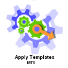 Apply template for all charts MT5