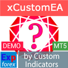 Exp5 The xCustomEA for MT5 DEMO