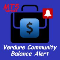 Verdure Community Balance Alert MT5