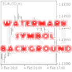Watermark symbol background MT5