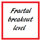 Fractal breakout level
