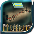 Rise or fall volumes MT5