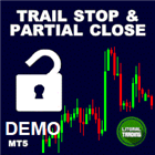 Trail Stop with Partial Close Demo