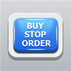 Virtual pending buy stop order