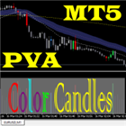 PVA Color Candle