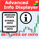 Advanced Info Displayer mt5