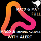 MACD and Moving Average with Alert
