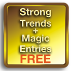 Strong Trends With Magic Entries MT5 FREE