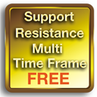 Support Resistance Multi Time Frame MT5 FREE