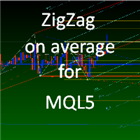 ZigZag on average for MQL5