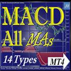 MACD All MAs 14 types MT4