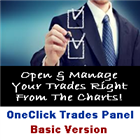 One Click Trades Panel Basic