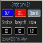 Simple panel EA
