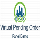 Virtual Pending Order Panel Demo