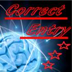 Correct Entry