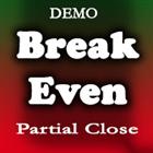 Break Even Partial Close Demo