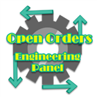 Open Orders Engineering Panel