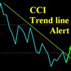 CCI Trend Line Alert