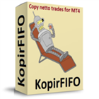 KopirFIFO copy netto trades for MT4
