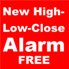 New High Low Close Alarm Free