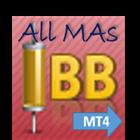Bollinger Bands all MAs MT4