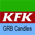 GRB Candle Green