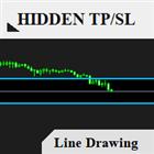 Hidden TP SL Line Pro