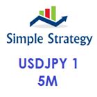 Simple Strategy USDJPY 1
