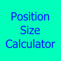 Easy Position Size Calculator MT5