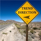 Trend direction line