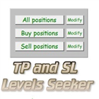 TP and SL Levels Seeker
