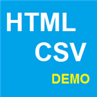 Url HTML And XML Encoding To CSV Demo