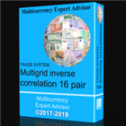 TS Multigrid inverse correlation 16 pair