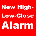 New High Low Close Alarm