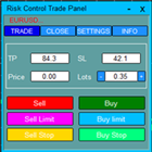 Risk Control Trade Panel
