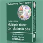 TS Multigrid direct correlation 8 pair