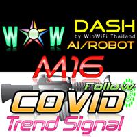 WOW Dash M16 Covid Trend Signal