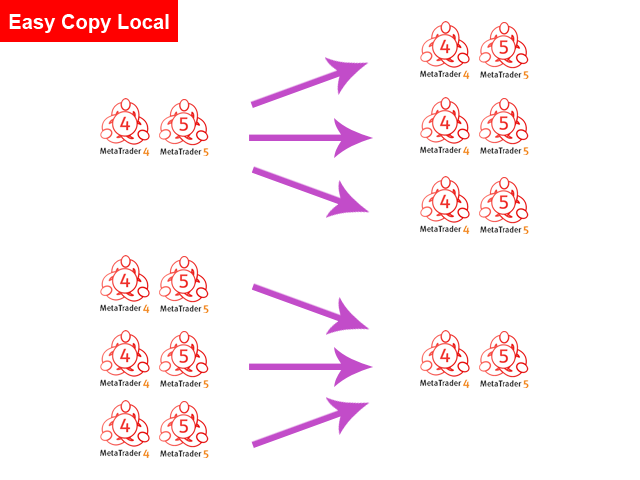 Easy Copy Local MT5