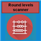 Round levels scanner