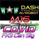 WOW Dash M16 Covid FX3Can Signal