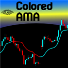 Colored Adaptive Moving Average AMA