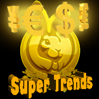 Super Trends EurUSD Gold Currencies MT5