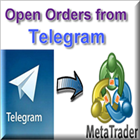 Open orders from Telegram