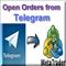 Open orders from Telegram