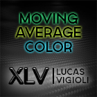 XLV Moving Average Color