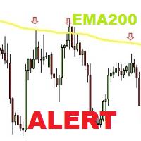 EMA200 indicator alert mt5